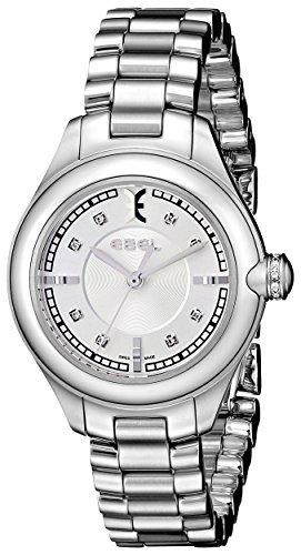 Ebel Damen-Armbanduhr 1216092Onde Edelstahl mit Diamant Marker von Ebel