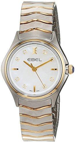 ebel damen armbanduhr ebel wave lady analog quarz edelstahl 1216197 - EBEL Damen-Armbanduhr EBEL WAVE LADY Analog Quarz Edelstahl 1216197