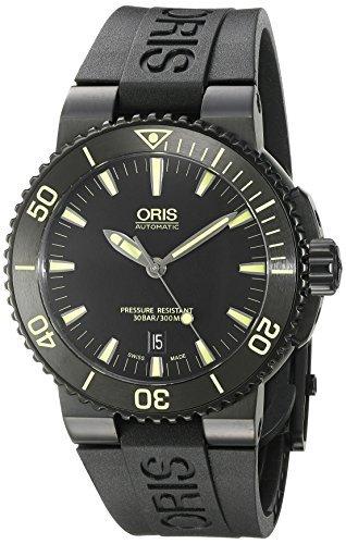 oris herren armbanduhr 43mm schwarz schweizer automatik analog 73376534722rs - ORIS HERREN-ARMBANDUHR 43MM SCHWARZ SCHWEIZER AUTOMATIK ANALOG 73376534722RS