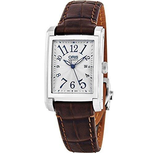 oris herren armbanduhr armband leder schweizer automatik 01 561 7657 4061 ls - Oris Herren-Armbanduhr Armband Leder Schweizer Automatik 01 561 7657 4061-LS